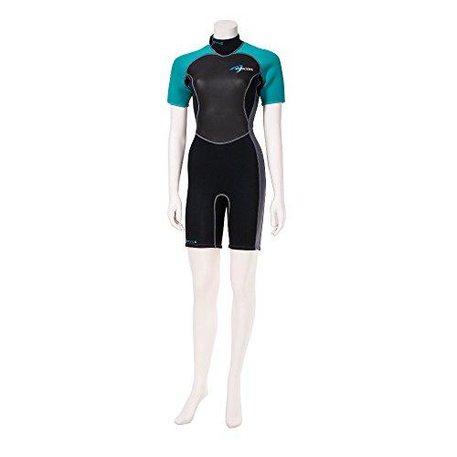 Ascan Style Shorty Damen Neoprenanzug Surfanzug Windsur…   04049573570424