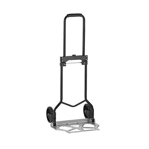 Xclou Sackkarre - Transportwagen klappbar - Transport-Karre max. Belastung 90 kg - Handkarren - Treppenkarre - Stapelkarre faltbar & stabil - Transportrodel