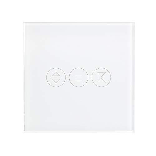 Festnight Interruttore per tapparelle intelligente, interruttore tenda wifi interruttore persiane compatibile con alexa Google Home Smart Tocca interruttore timer per serrande elettriche Motor