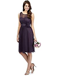 Debut Mauve Corsage Dress Fits Size 10