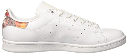 adidas Stan Smith, Baskets Basses Femme Blanc (Footwear White/Footwear White/Off White)