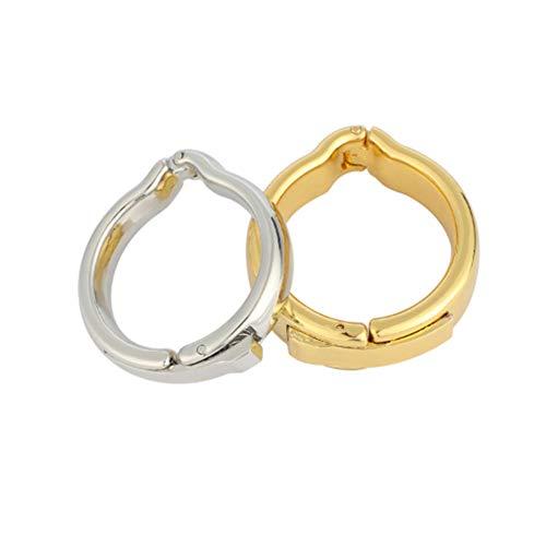 ZWFUN Metall Penisring Penis Ring Vorhaut Ring, Eichelring Cock Ring Vorhautkorrekturring (2pcs Täglicher Gebrauch und Nachtgebrauch)