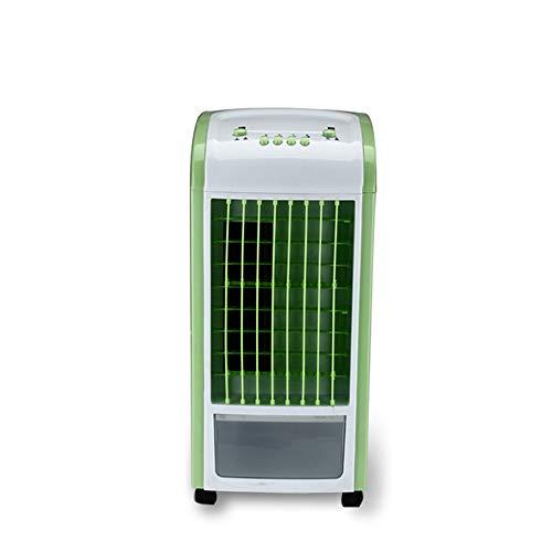 60W 220V evaporador de aire evaporativo ventilador portátil manija escritorio ventilador eléctrico Mini acondicionador de aire dispositivo fresco calmante viento hogar,Green,Mechanical