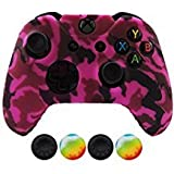 Hikfly Housse de protection en silicone pour manette Xbox One/Xbox One S/Xbox One X...