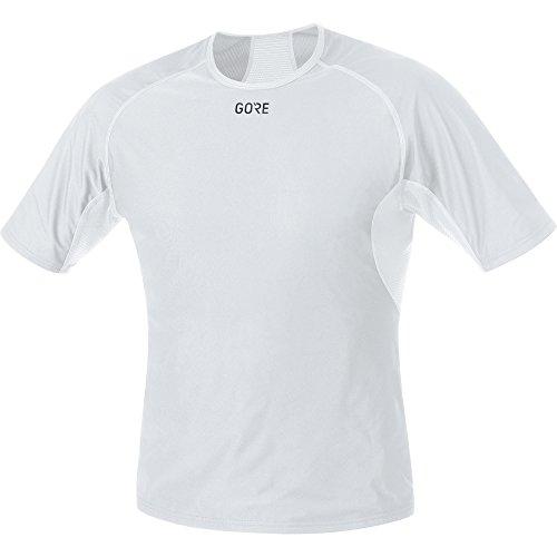 GORE WEAR Herren M Windstopper Base Layer Shirt, Light Grey/White, XL