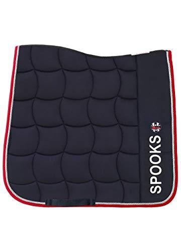 SPOOKS Schabracken, Sattelpad, Satteldecke, Dressur, Springen, Pferde, Springschabracke, Turnierschabracke - Dressage Pad Capri navy/red