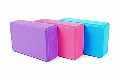 Yoga Block Set Klotz Hilfsmittel Gymnastik Sport Ziegel Hause Übung Hartschaumblock