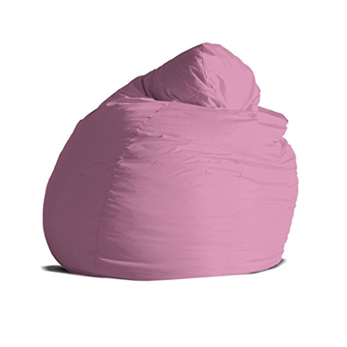 Pouf poltrona sacco grande BAG XXL Jive tessuto tecnico antistrappo rosa  imbottito – Avalon