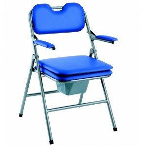 Invacare H407 Omega Chaise pliante avec toilettes