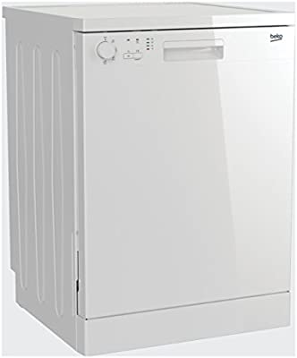 Lavavajillas Beko DFC04210 W Clase A + capacidad 12 COPERTI a Independiente Color blanco