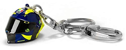 Valentino Rossi Vr46 Classic-Accessories, Portachiavi Unisex Adulto, Multicolore, 2, 2 x 2 cm