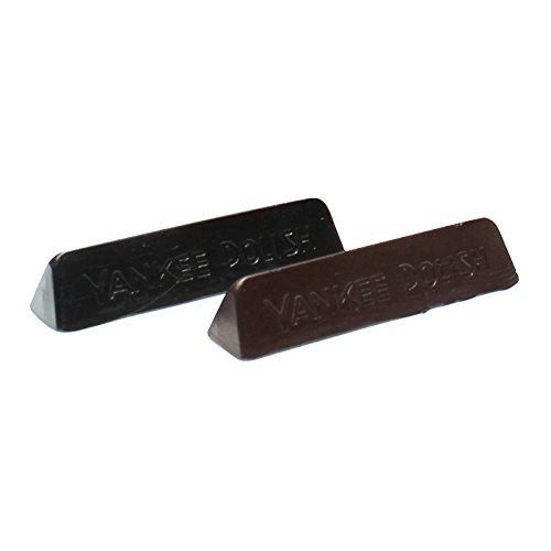 Langlauf® Sparset Farbwachs Ausputzwachs schwarz/braun für Kratzer in Oberleder und Absatz Farbe: schwarz,dunkelbraun