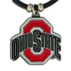 NCAA Ohio State Buckeyes Gummi Schnur Halskette (Leichtathletik Osu)