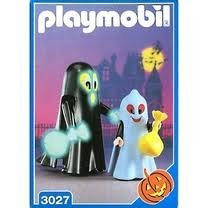 Playmobil 3027 Halloween Trick or Treaters Ghosts