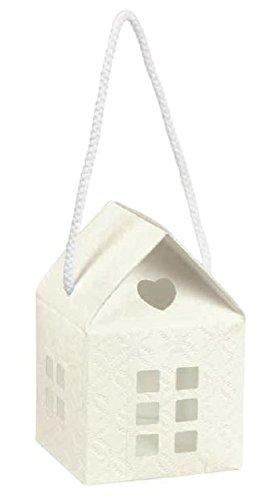 10 pz scatola casetta matelasse' bianco regalo bomboniera matrimonio 10 x 10 x 10 cm made in italy