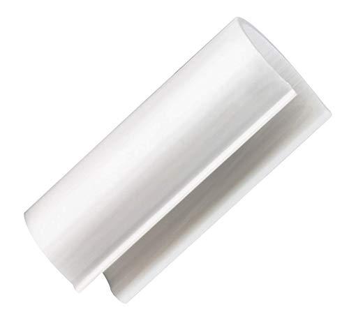 CIRCOPACK 20 Stück Standard Grip Snap Clamp - 10,2 x 27,9 cm Möbel Grade ABS -