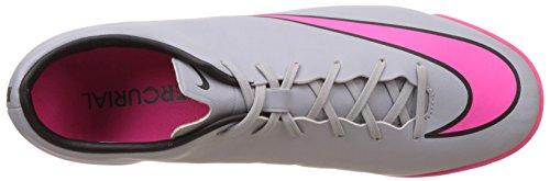 Nike Mercurial Victory V Ic, Chaussures de Futsal homme Gris - Grau (Wolf Grey/Hyper Pink-Black-Black 060)