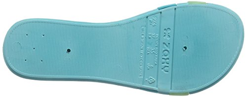 Zaxy Summer, Sandales Plateforme femme Turquoise - Turquoise
