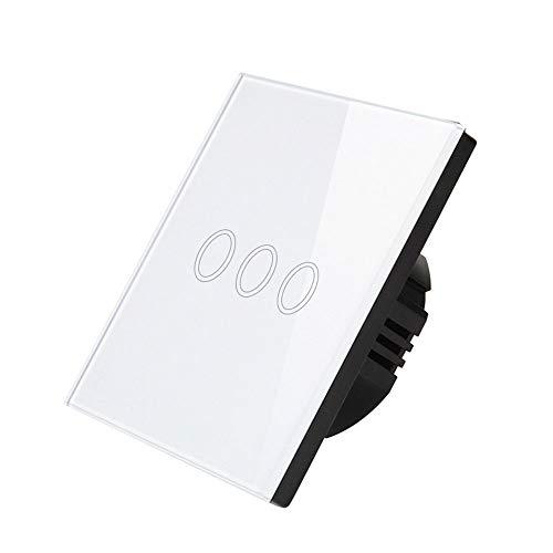 Smart Touch-Wandschalter, intelligenter Lichtschalter, kein Hub erforderlich Mehrere Bedienelemente - Verschiedene Arten von Lampen auf dem Markt, wie z. B. Glühlampen Digital-message-repeater