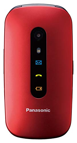 Panasonic Kx-tu456exre Red Easy Phone Clamshell -