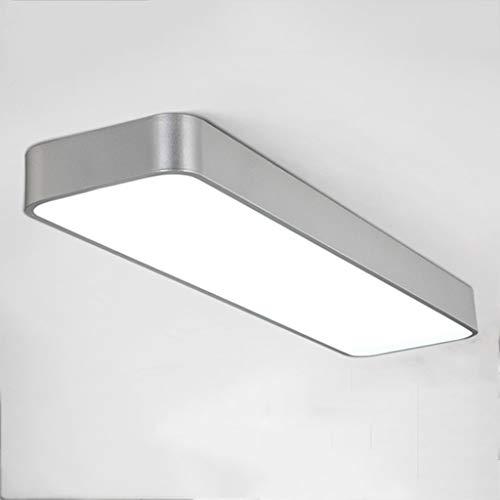 Geführte Saugspitzenlampen-Büro-Decken-rechteckige Restaurant-Licht-Gang-Korridor-Licht-Studie Leuchtstoff weißes Lichtart und weise (Farbe: Schwarzes, Größe: 120 * 30CM) (Leuchtstoff Schwarz Licht)