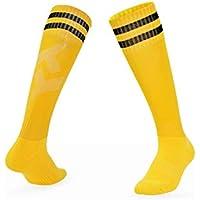 Huyizhi Calcetines de Hombre 3 Pares de fútbol de los Deportes de los Hombres de fútbol