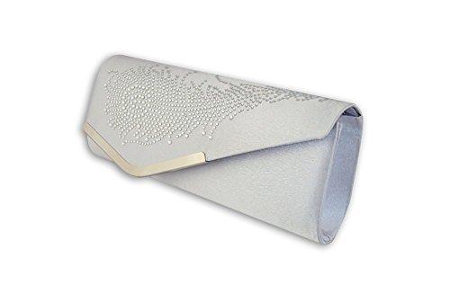 XPGG da sera-Borsa-regalo good Idea regalo Nero (argento)