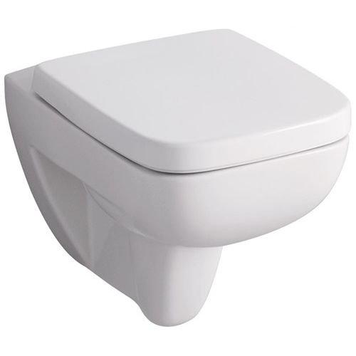 Keramag Renova Nr.1 Plan Tiefspül-WC spülrandlos, wandhängend weiß