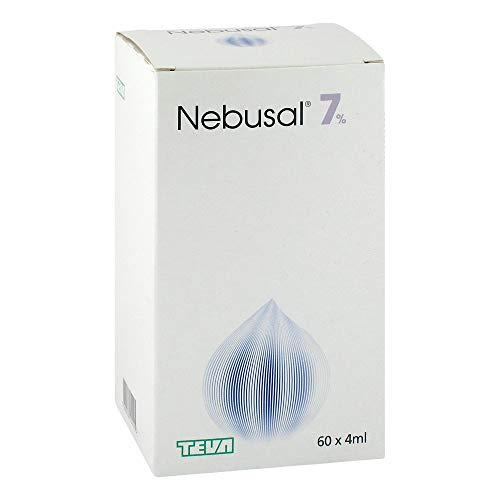 Nebusal 7% Inhalationslös 60X4 ml