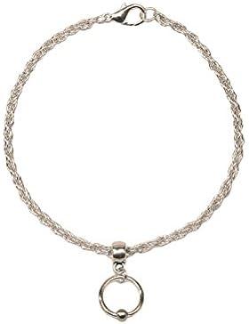Armband 'CAPELLA' 53002 Armkettchen Chain Bracelet Fetisch SM Gothic Ring der O Kette Fetisch O-Ring BDSM Sklave...