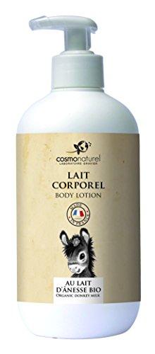 Cosmo Naturel Lait corporel au lait d'ânesse et HE 500ml