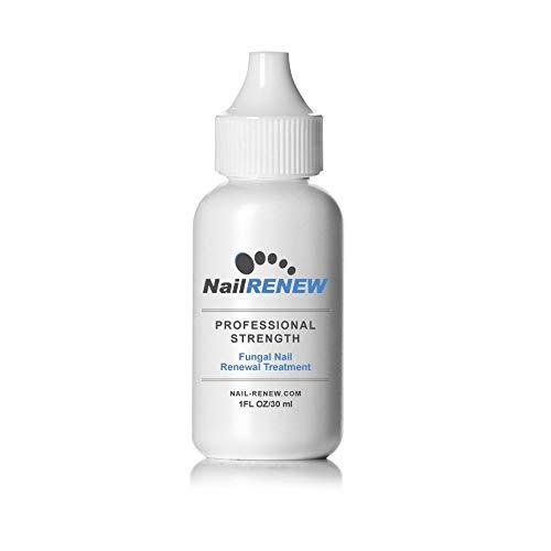 Antihongos NailRENEW: tratamiento para los hongos de las uñas de los pies y uñas descoloridas o quebradizas de concentración profesional y que cumple con la FDA.