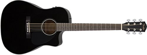 Guitarra acústica Fender CD-60toda de madera de caoba