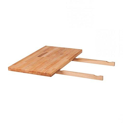 SAM® Ansteckplatte für Tisch Horst aus Kernbuche 40 x 80 cm