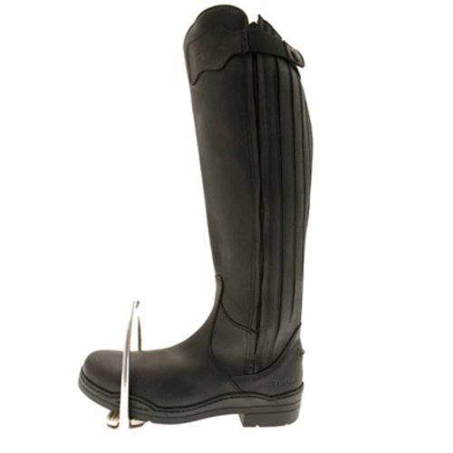 New Norfolk Bottes d'équitation en cuir Standard noir - Noir