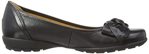 Gabor - Glitz L, Ballerine Donna Nero (Black (Black Leather))