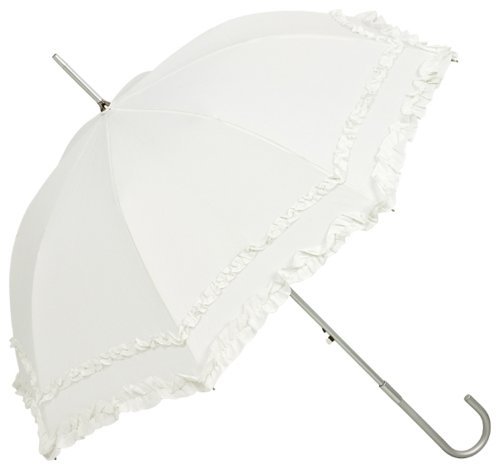 VON LILIENFELD Regenschirm Damen Mode Sonnenschirm Brautschirm Hochzeitsschirm Mary-Poppins-Schirm...