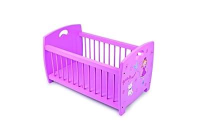Small Foot Company 5352 Beauty Princess - Cuna para muñecos, diseño de princesa, color rosa by Small foot company