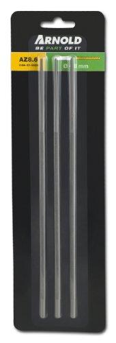 Arnold 1194-X1-0028 Rundfeilen für Sägeketten, 4.8 mm, 3 Stück