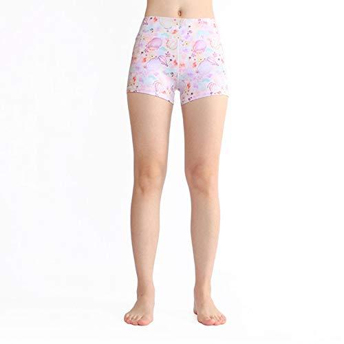 Feidaeu Frauen Shorts elastisch schnell trocken super weich glatt und bequem Jogging Yoga Gym Sport Fitness Workout Hosen Leggings