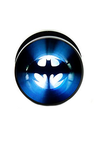 Picture Plug, Batman Bat Signal in acrilico, colore: 20mm, cod. IC102128-0008