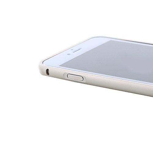 """RE:CRON® iPhone 6 Plus (5,5"""") Aluminium Handy Bumper Aluminium - grau Gold"""