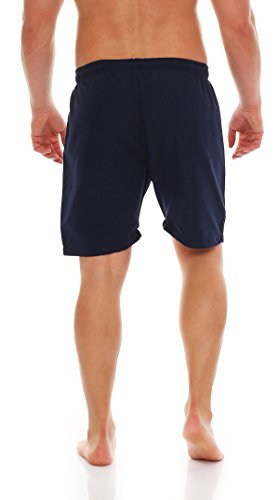 Gennadi Hoppe Herren Badeshorts Badehose Beach Shorts Schwimmshort Blau