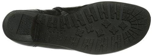 Gabor Shoes, Stivali bassi Donna Nero (Schwarz (schwarz))