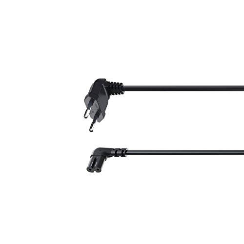 Preisvergleich Produktbild Hama 00118023–Kabel (männlich/Weiblich, Winkel, Winkel, Schwarz, Sonos Play: 1/Play: 5)