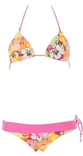 Shiwi Damen Neckholder Triangel Bikini Rosa
