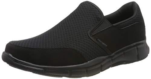 Skechers Equalizer Persistent, Zapatillas para Hombre, Negro (Black), 47.5 EU