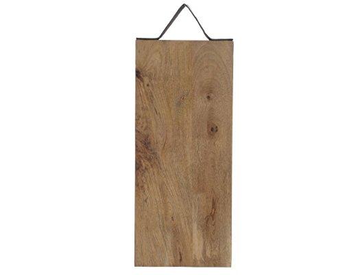 Schneidebrett Brett Holz Mangoholz Jausenbrett Käsebrett Servierbrett Küchenbrett zum Hängen L 37 cm