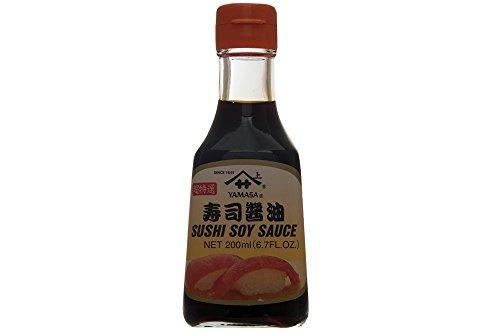 Sojasauce Dunkel Yamasa Sojasoße Koikuchi Shoyu Sauce Soja-Soße für Sushi und Sashimi 200ml - Sushi Sauce