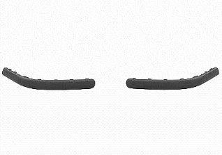 Van Wezel 5888553 Profile ou CTC Pare-choc arrière gauche, Noir